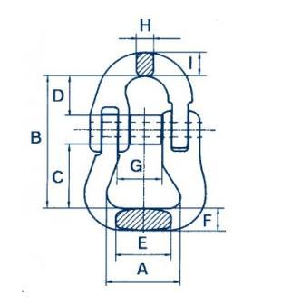 Ogniwo łączące do pasówki